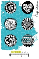 Picture of Cling Stamp A6 - Round and Round by Birgit Koopsen
