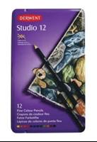 Picture of Derwent Studio Pencils - Tin of 12