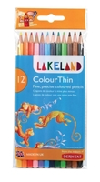 Picture of Derwent Lakeland ColorThin Pencils - Set of 12