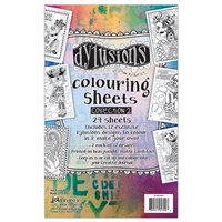 Picture of Dylusions Coloring Sheets 2