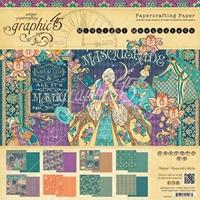 Picture of Graphic 45 Midnight Masquerade 8x8 Pad