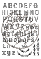 Picture of Clear Stamps - Elines alphabet