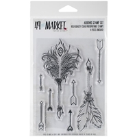 """Picture of 49 & Market Clear Stamps 4""""X6"""" - Arrows"""