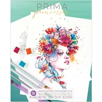 Picture of Prima Marketing Watercolor Coloring Book - Princess Vol. 1