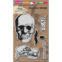 """Picture of Stampendous Andy Skinner Cling Stamps 9""""X5.25"""""""