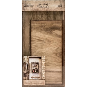 Picture of Idea-Ology Wooden Vignette Trays