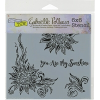 Picture of Crafter's Workshop Template 15x15 - My Sunshine