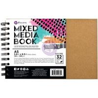 Picture of Prima Mixed Media A5 Spiral Bound Kraft Book