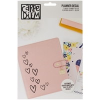 Picture of Carpe Diem Large Planner Decals - Floating Hearts