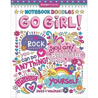 Picture of Design Originals-Notebook Doodles: Go Girl!