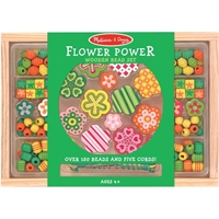 Picture of Wooden Bead Set - Flower Power