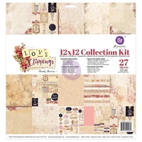 Picture of Prima Marketing Collection Kit 30.5X30.5 - Love Clippings