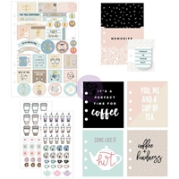 Picture of My Prima Planner Goodie Pack Embellishments - Coffee & Tea Lovers