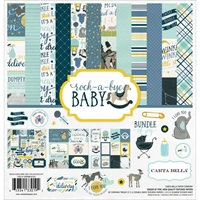 Picture of Carta Bella Collection Kit 30.5Χ30.5 - Rock-A-Bye Baby Boy