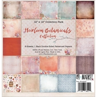 Picture of 49 & Market Collection Pack 12''X12'' - Heirloom Botanicals