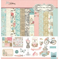 """Picture of Photo Play Collection Pack 12""""X12"""" - French Flea Market"""