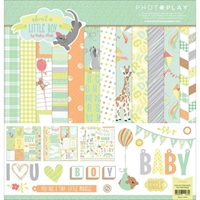 """Picture of Photo Play Collection Pack 12""""X12"""" - About A Little Boy"""