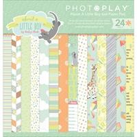 """Εικόνα του Photo Play Double-Sided Paper Pad 6""""X6"""" - About A Little Boy"""