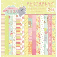 """Picture of Photo Play Double-Sided Paper Pad 6""""X6"""" - About A Little Girl"""