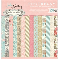 "Picture of Photo Play Double-Sided Paper Pad 6""X6"" - French Flea Market"