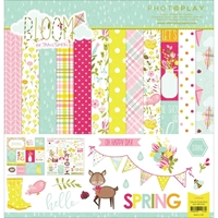 """Picture of Photo Play Collection Pack 12""""X12"""" - Bloom"""