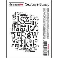 Picture of Darkroom Door Cling Stamp - Alphabet