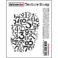 Picture of Darkroom Door Cling Stamp - Numbers