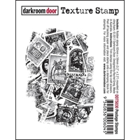 Picture of Darkroom Door Cling Stamp - Postage Stamps