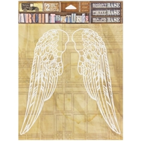 """Picture of 7 Gypsies Architextures Adhesive Short Base 6""""X6"""" - Wings"""
