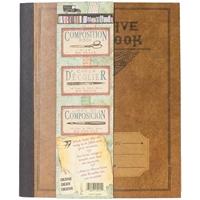 """Εικόνα του 7 Gypsies Architextures Kraft Composition Book 5""""X6"""""""