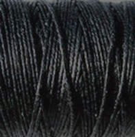 Picture of Waxed Linen Thread Black 5m