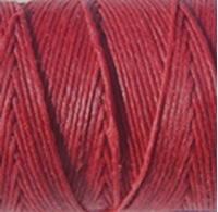 Picture of Waxed Linen Thread Country Red 5m