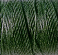 Picture of Waxed Linen Thread Dark Emerald 5m