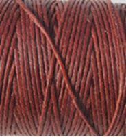 Picture of Waxed Linen Thread Dark Rust 5m