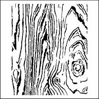 Εικόνα του Stencil - Woodgrain