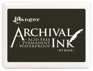 Picture of Μελάνι Ranger Archival Ink - Jet Black