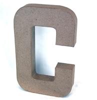 Εικόνα του 3D Γράμματα 20.5cm Γράμματα - C