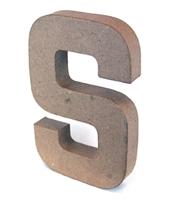 Εικόνα του 3D Γράμματα 20.5cm Γράμματα - S
