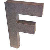 Εικόνα του 3D Γράμματα 20.5cm Γράμματα - F