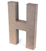Εικόνα του 3D Γράμματα 20.5cm Γράμματα - H