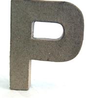 Εικόνα του 3D Γράμματα 20.5cm Γράμματα - P