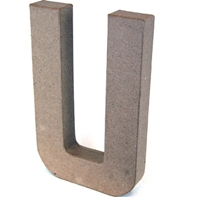 Εικόνα του 3D Γράμματα 20.5cm Γράμματα - U