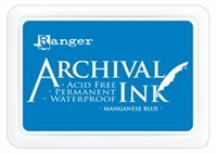 Εικόνα του Μελάνι Ranger Archival Ink - Manganese Blue
