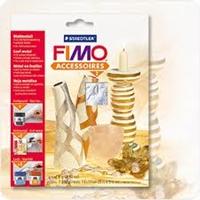 Picture of Φύλλα Μεταλλικά Imitation Fimo - Ασήμι
