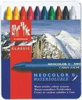 Εικόνα του Caran d'Ache Neocolor II Artists' Crayons - Tin of 10