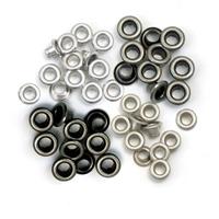Εικόνα του We R Memory Keepers Eyelets Standard Eyelets Standard - Cool Metal