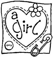 Εικόνα του Σφραγίδα - A Girl