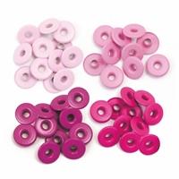 Εικόνα του We R Memory Keepers Eyelets, Wide - Aluminum Pink