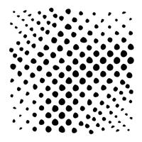Εικόνα του Stencil 15x15 - Halftone Circles