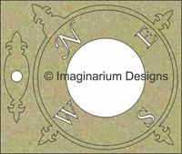 Εικόνα του Large Compass and Needle in board - Chipboard